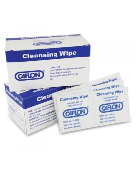 Caflon Cleansing Wipes for Ear Piercing Box of 100