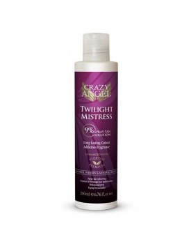 CRAZY ANGEL SALON TANNING SPRAY 9% TWILIGHT MISTRESS MEDIUM/DARK 200ml