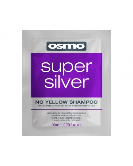 Osmo Super Silver No Yellow Shampoo-20ml Sachet