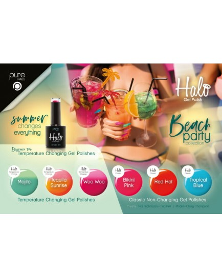 Halo Gel Polish 8ml -Full Beach Party Collection