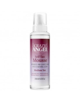Crazy Angel Clear Self Tan Mousse Medium Tan
