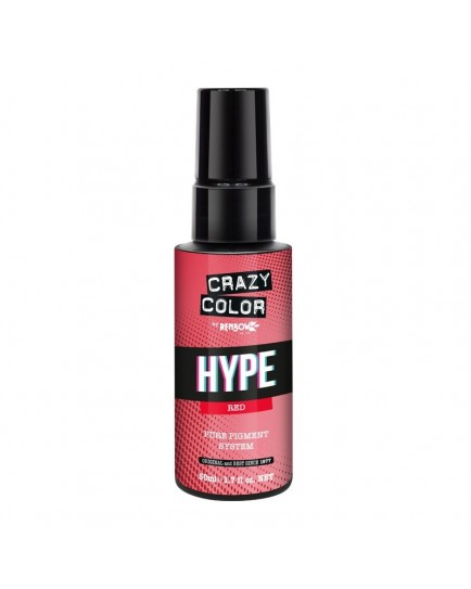 Crazy Color Hype Pure Pigment Drops Red 50ml