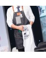Agenda Barbering Retro Denim Leather Apron
