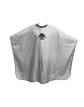 Agenda Pinstripe Barbering Gown