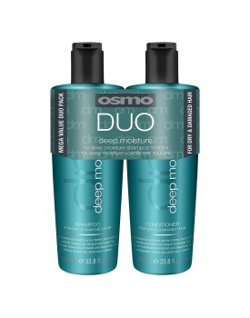 Osmo Deep Moisture Shampoo & Conditioner Twin 2 x 1000ml