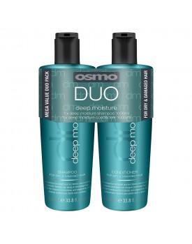 Osmo Deep Moisture Shampoo & Conditioner Twin 2 x 1000ml