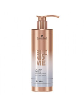 Schwarzkopf Blonde Me Blush Wash Shampoo 250ml -Silver