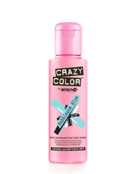 Crazy Color Semi Permanent Hair Colour 100ml - Bubblegum Blue