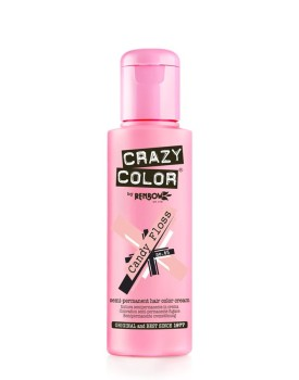 Crazy Color Semi Permanent Hair Colour 100ml - Candy Floss
