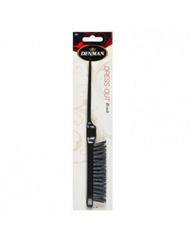 Denman D91 Back Combing Brush Black