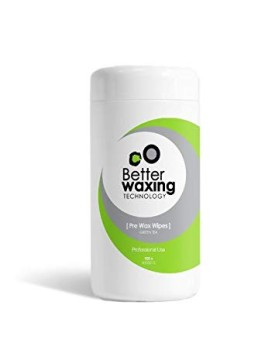 Better Waxing Pre Wax Wipes Green Tea