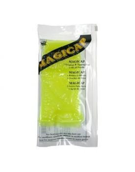 Denman Highlightening Cap Rubber Magicap Neon Yellow