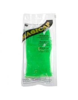 Denman Highlightening Cap Rubber Magicap Neon Green