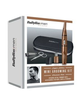 BABYLISS Personal Groomer Nose, Ear & Eyebrow Trimmer Gift Set Copper 7058DGU