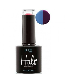 Halo Gel Polish 8ml  Mauve/Blue Colour Changing