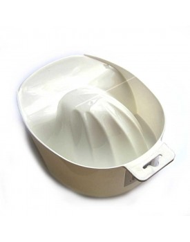 The Edge Shellfish Manicure Bowl Finger Bath White
