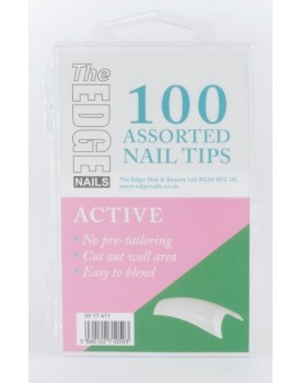 The Edge Active Nail Tips 100