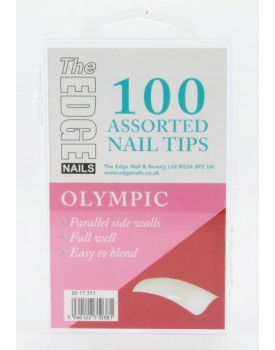 The Edge Olympic Nail Tips 100
