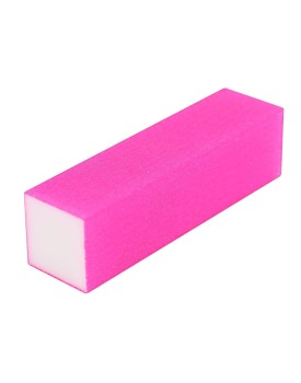The Edge Neon Pink 4 Way Sanding Block 100/100 Grit x10