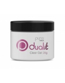 Pure Nails Dual It Clear Gel 28g
