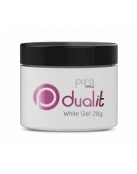 Pure Nails Dual It White Gel 28g