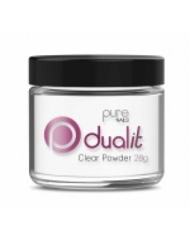Pure Nails Dual It Clear Powder 28g