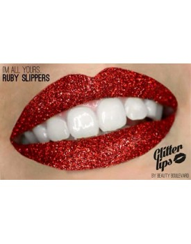 Beauty Boulevard Glitter Lips Ruby Slippers