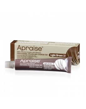 Apraise Professional Eyelash and Eyebrow Tint LIGHT BROWN 3.1