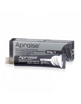 Apraise Professional Eyelash and Eyebrow Tint GREY 1.1