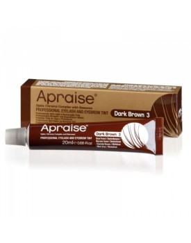Apraise Professional Eyelash and Eyebrow Tint DARK BROWN 3