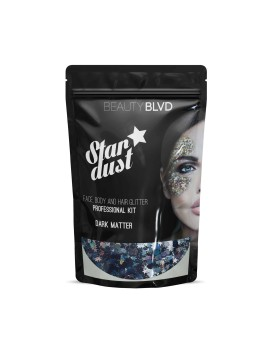 Beauty Boulevard Stardust Pro Kit Dark Matter 75g Bag