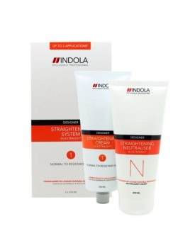 Indola Silkstraight - Normal/Resistant Hair
