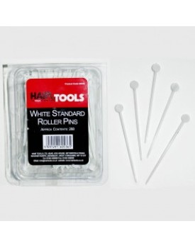 Hair Tools White Standard Roller Pins Box
