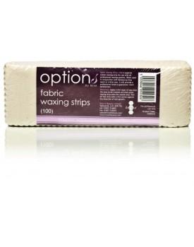 Hive Of Beauty Fabric Waxing Strips (100) 20 x 7cm
