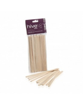 Hive Of Beauty Disposable Mini Wooden Spatulas (50)