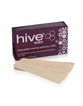 Hive Of Beauty Disposable Wooden Spatulas (100)