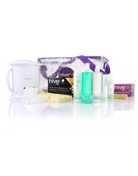 Hive Of Beauty NO1 Wax Heater 1 Litre Sensitive Hot Film Kit