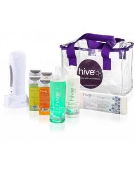 Hive Of Beauty Hand Held 100g Roller Waxing Kit