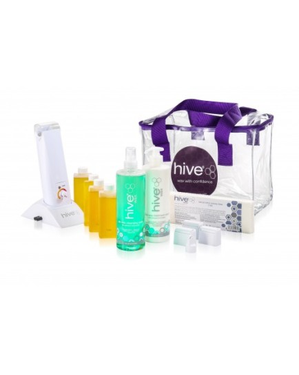 Hive Of Beauty Hand Held 80g Roller Waxing Kit