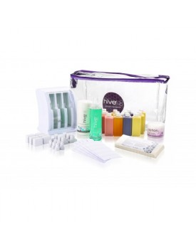 Hive Of Beauty Mini Multi-Pro Cartridge Heater (3 Chamber) Roller Waxing Kit