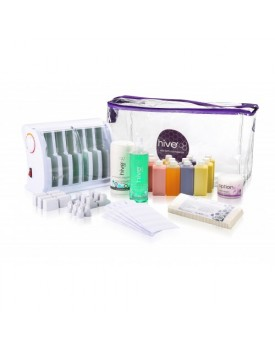 Hive Of Beauty Multi-Pro Cartridge Heater (6 Chamber) Roller Waxing Kit