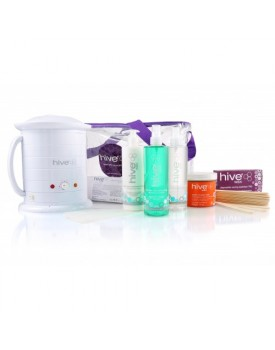 Hive Of Beauty NO1 Wax Heater 1 Litre Warm Honey Wax Kit