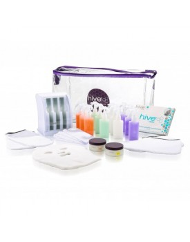 Hive Of Beauty Mini Multi-Pro Cartridge Heater Paraffin Kit (3 Chamber)