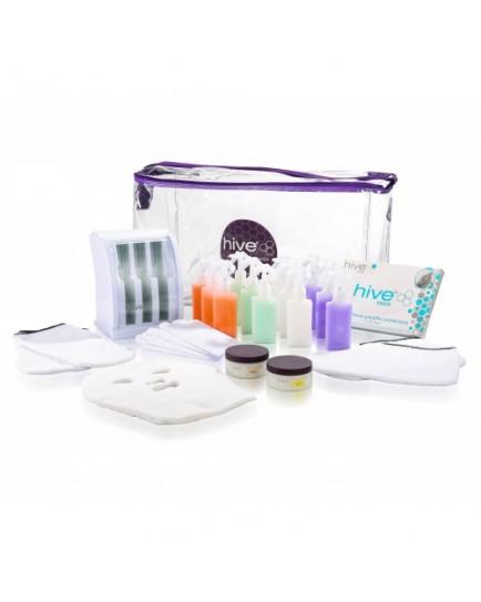 Hive Of Beauty Mini Multi-Pro Cartridge Heater Paraffin Kit (3 Chamber)