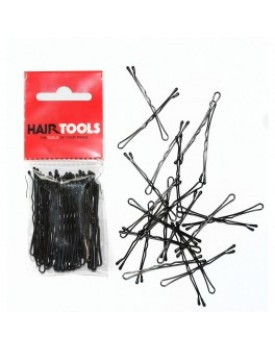 "Hair Tools 2""  Waved Grips Black -50"