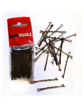 """Hair Tools 2""""  Waved Grips Brown - 50"""