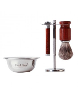 Dark Stag Traditional Shaving Set