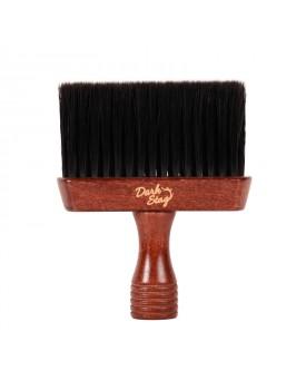 Dark Stag Barber Neck Brush