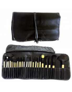 High Maintenance 24 Piece Brush Set in a Bag - BRU17