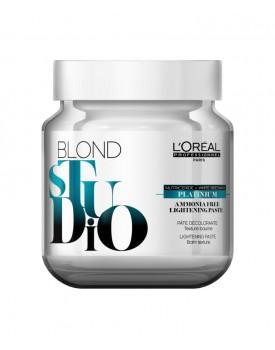 L'Oreal Blond Studio Platinum Ammonia Free Lightening Paste Bleach 500g